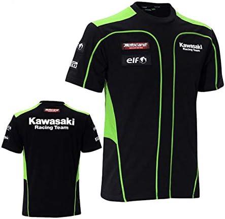 MotoCircuitPartes Camiseta de Paddock pitlain Ropa de Equipo de competicion Kawasaki (L): Amazon.es: Coche y moto