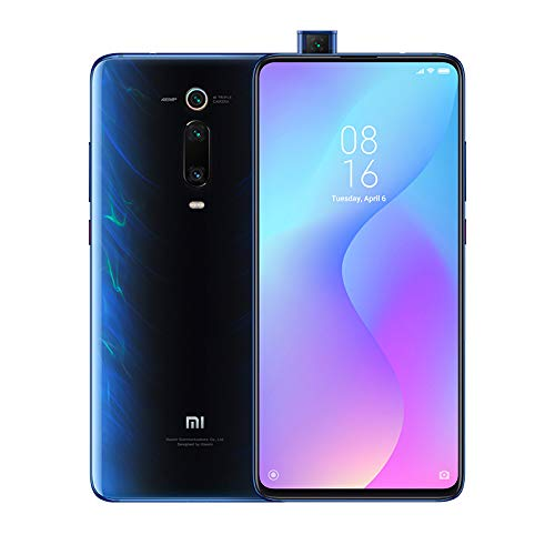 Xiaomi Mi 9T Smartphone con Pantalla AMOLED Full Screen de 6 39 Selfie Pop up Triple cámara de 13 48 8 MP con NFC 4000 mAh Qualcomm SD 730 6 64 GB Color Azul Glaciar Versión española