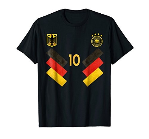 Germany Football Soccer Team T-shirt by Sports National T Shirt Gift Shop