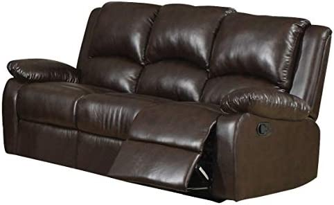 Coaster Home Furnishings Boston Motion Sofa Two Tone Brown