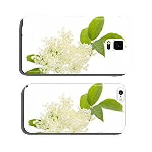 Elderflower on white background cell phone cover case iPhone6