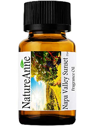 Napa Valley Sunset (Type) Premium Grade Fragrance Oil - 10ml - Scented Oil - for Diffuser Oils, Making Soap, Candles, Lotion, Home Scents, Linen Spray, Lotion, Perfume, Beard Oil,
