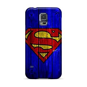 Shockproof Hard Phone Case For Samsung Galaxy S5 With Provide Private Custom High-definition Superman Series AshtonWells