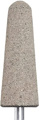"PFERD 35105 A3, Grit 30, Aluminum Oxide Long Life Resin Mounted Point With 1/4"" Shank"