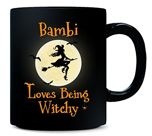 (Bambi Loves Being Witchy Halloween Gift -)