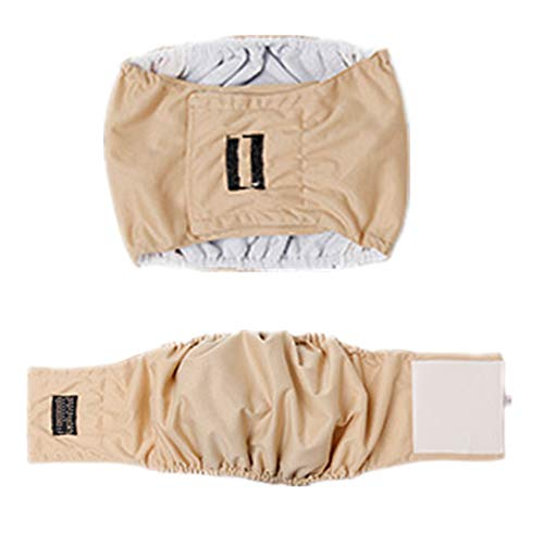 Dog Belly Seasons Band - Fully 2X Dog in Season Heat Nappy Incontinence Protective Pants Diapers Male Dog Physiological Belly Bands Wrap (XL: Waist: 49-58cm/19.29-22.83