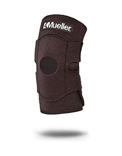 Mueller Knee Straps - Mueller Adjustable Knee Support One Size Fits Most, 1-Count Package