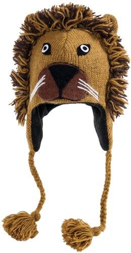 Nirvanna Designs CHNLION Lion Hat with Fleece, Tan, Toddler