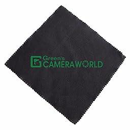 30.5mm 3 Piece Filter Set (UV, CPL, FL) + SLR Lens Pouch + Lens Pen Cleaner + Microfiber Cleaning Cloth + Deluxe Sling Digital SLR Camera Backpack Case (Black/Silver) Bundle