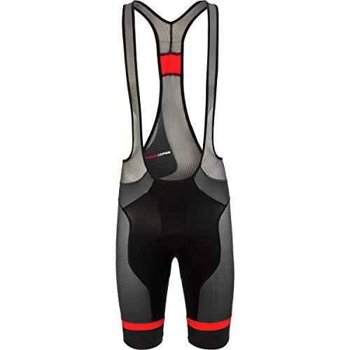 Castelli Free Aero Race 4 Limited Edition Bib Short - Men's Black/Red, XL