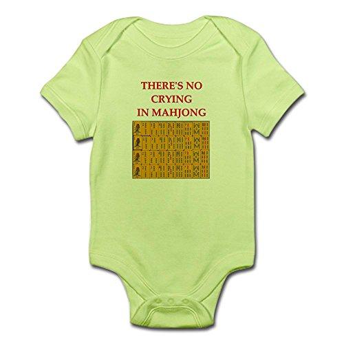 Love Mahjong (CafePress i Love Mahjong Infant Bodysuit - Cute Infant Bodysuit Baby Romper)