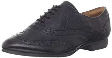 Clarks Women's Charlie Brogue Oxford,Black,5 M US
