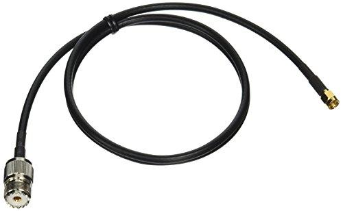 DHT Electronics Yaesu Kenwood Handheld to PL259 Cable