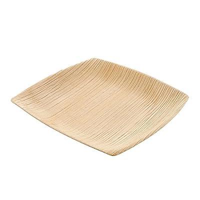 CiboWares SQUARE Palm Plate Parent