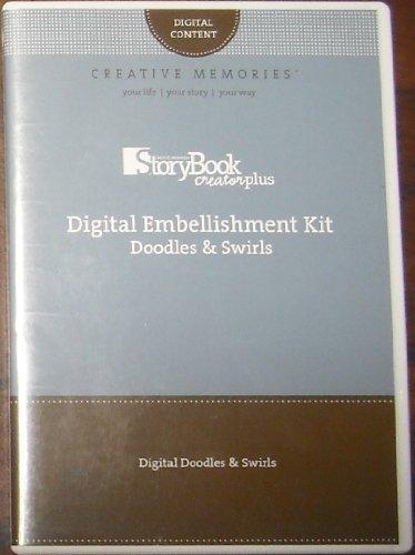 Storybook Creator Plus: Digital Embellishment Kit: Doodles & Swirls -