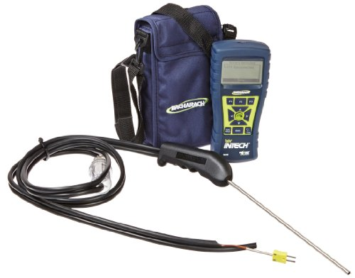 - Bacharach Fyrite Intech Combustion Analyzer, O2/CO Measurement