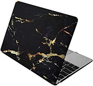 "(sawabi-st) Apple Macbook Pro Retina Display 13"""" 13.3"""" Inch Rubber Coated Soft Touch Finish Case Cover Yellow Marble"