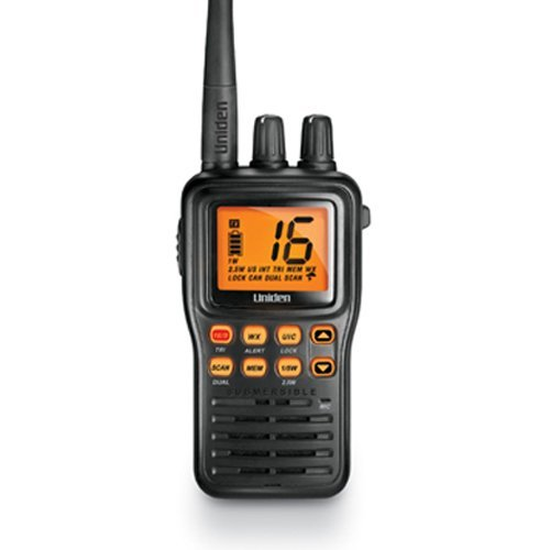 5 Watt Professional VHF Waterproof Rechargeable 2 Way Radios