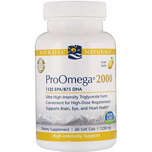 Nordic Naturals Pro - Proomega 2000, Highest-Concentration (Best Otc Fish Oil)