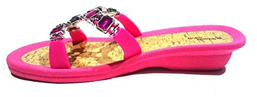 Bilbao Donna Scarpa Rosa Spiaggia Ciabatte Da Linea Aq05wZq