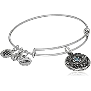 Alex and ANI Evil Eye Bangle Bracelet Expandable