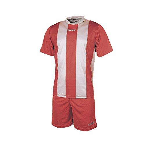 Max Completo Calcio Monza Rosso Bianco