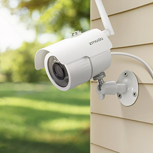 Outdoor Wireless Security Camera System with DVR Recording