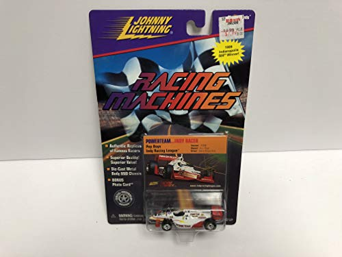 Indy Racer 1999 Indianapolis 500 Winner JOHNNY LIGHTNING 1999 Racing Machine Series die-cast with Bonus Photo Trading Card