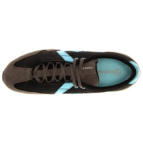 Converse Womens Revival Ox Fabric Lage Top Lace Up Fashion Sneakers Zwart, Grijs, Turquoise