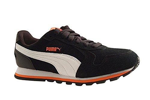 Puma St Runner Sd Jr Zapatillas de Deporte, Unisex Niños Puma Black-Puma White