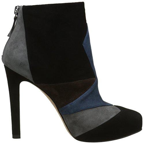 Pura Lopez Aj272, Stivali Donna Multicolore (Multicolore (Black/Grey/Ocean/Testa))