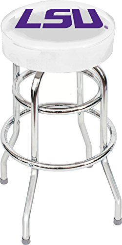 Imperial Officially Licensed NCAA Furniture: Swivel Seat Bar Stool, LSU ()
