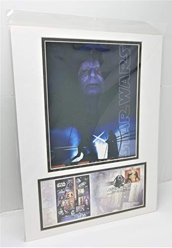 Star Wars The Emperor United States Postal Service (USPS) First Day Issue 2007 Stamp Matted Photo-Cover