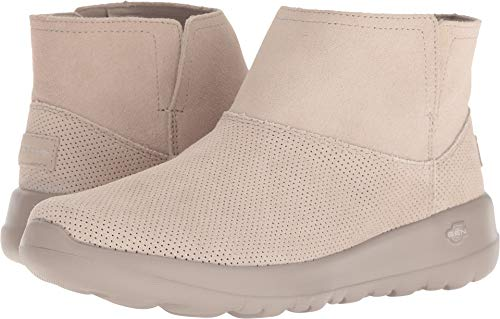 (Skechers On The GO Joy Amber Womens Ankle Boots Taupe 8)