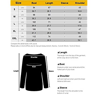 Nlife Women Good Vibes Blouse Hoodies Long Sleeve Casual Tank Tops Graphic Tee Shirt Sweaters for Women at Women's Clothing store