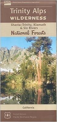 Trinity Alps Wilderness Maps: Amazon.com: Books