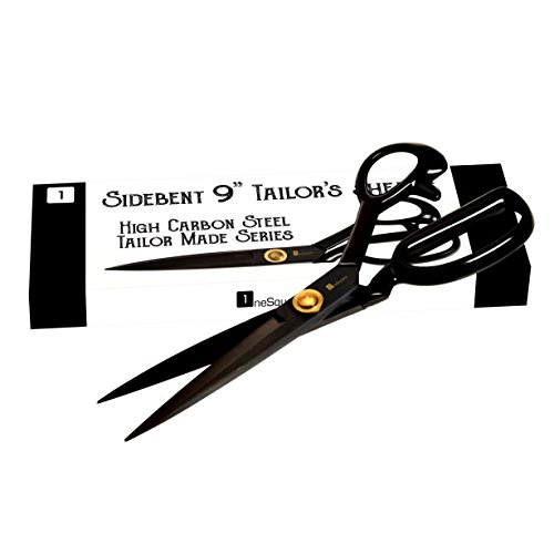 Find Bargain Scissors 9 inch - Professional Heavy Duty Industrial Strength High Carbon Steel Tailor ...