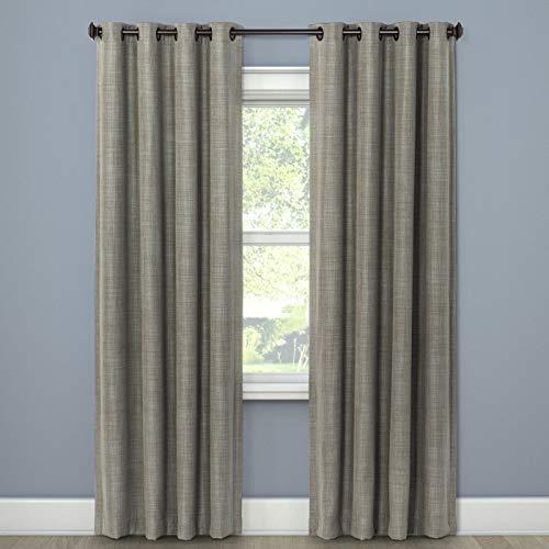 (Eclipse Rowland Light Blocking Curtain Panel, 52