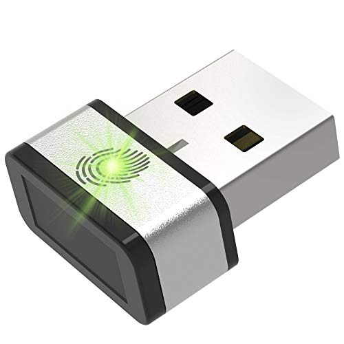 Review Of GMYLE Mini USB Fingerprint Reader for Windows 7,8 & 10 Hello, 360° Touch Speedy Matching ...