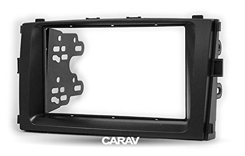 Carav 11-722 Double Din Car Dash Installation Kit Radio Stereo Face Facia Fascia Panel Frame DVD Dash Stereo Install Kit for BAIC E-series 2013-2014 Senova D20 2014+with 17398mm 178100mm 178102mm by CARAV (Image #3)