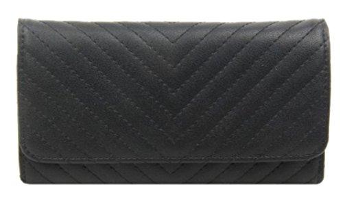 Girly Sintético Mujer Cartera Negro De Para Material Handbags 8qH8pSA