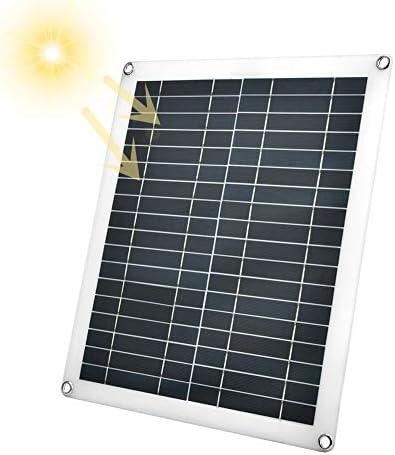 25W Flexibles Solarpanel, neues wasserdichtes flexibles polykristallines Solarpanel-Ladegerät für den Außenbereich für Autos, Wohnwagen und Desagüe-Systeme