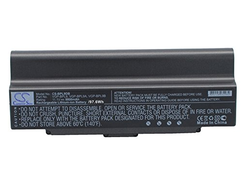 Click to buy Cameron Sino 8800mAh Replacement Battery for Sony VAIO VGN-AR570 - From only $113.77