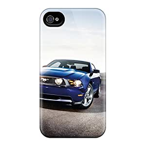 Quality MQMshop Case Cover With Ford Mustang Shelby Gt500 2012 Nice Appearance Compatible With Iphone 4/4s