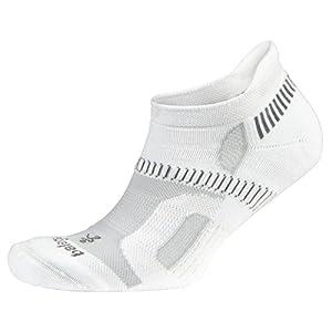 Balega Hidden Contour Socks For Men and Women (1-Pair), White, Medium