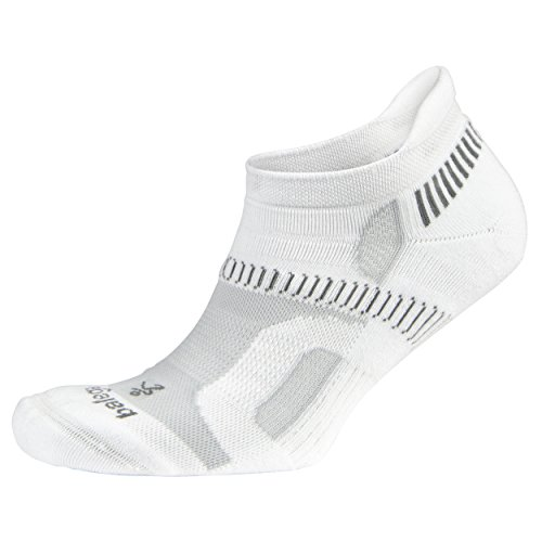 Balega Hidden Contour Socks For Men and Women (1 Pair), White, X-Large