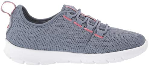 Clarks Women's Step Allena Go Sneaker, Blue Grey Mesh, 080 W US