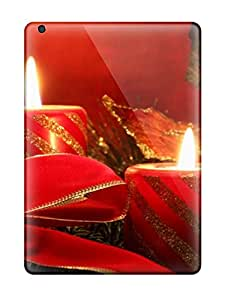 Brandy K. Fountain's Shop Best New Design Shatterproof Case For Ipad Air (attractive Christmas Candlelight )