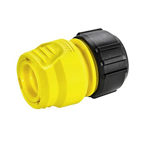 Karcher Plastic Hose Coupling Entry with Label (Multicolour, 4 x 5 inch) Hydraulics, Pneumatics & Plumbing at amazon