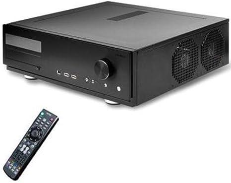 Antec Fusion Remote Black MediaCenter ATX - Caja de Ordenador con ...